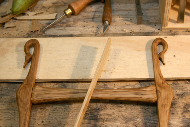 Frame saws - bow saws. #6: Swans and bones – Frame saw for coping ...