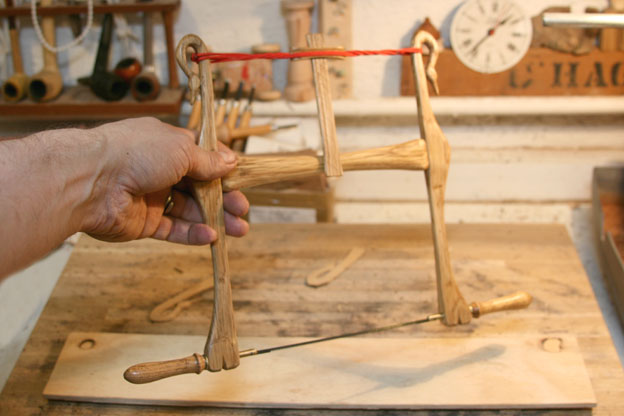 Frame saws - bow saws. #3: Swans and bones – Frame saw for coping ...