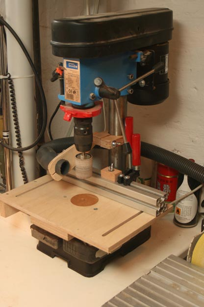 Drill Press Table And Much More 5 New Deep Stop For
