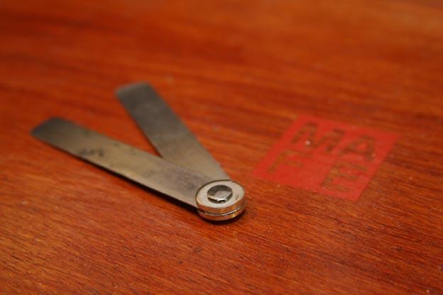 Bevel Gauge From A Hack Saw Blade Diy Blog By Mafe