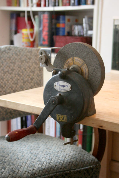 Hand Powered Vintage Bench Grinder Restore By Mafe