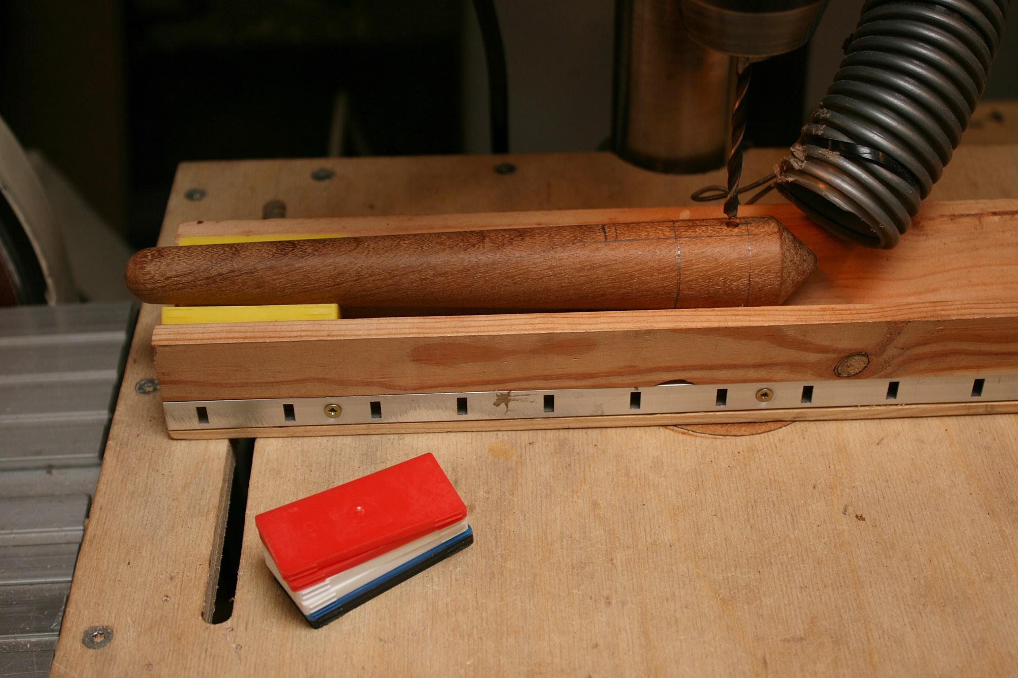 Japanese tools #26: Bunmawashi with pen holder - Japanese ...