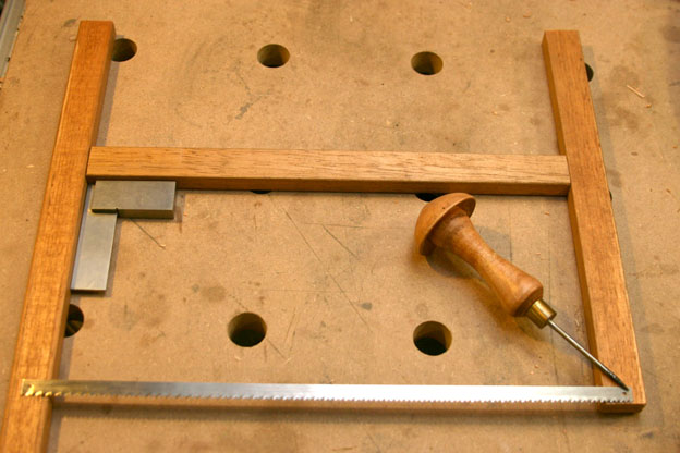 Frame saws - bow saws. #2: A simple frame saw - part two - by mafe ...