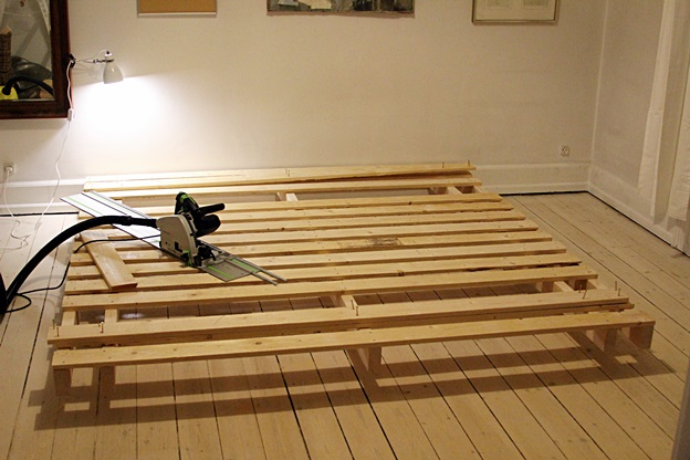 Pallet Woodworking 1 Style Bed No Recycle