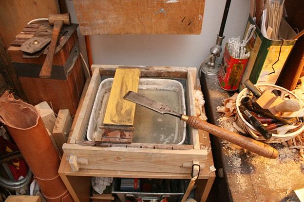 Sharpening Station Waterstones 1 Workshop Sharpening